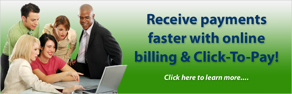 Online Billing with Click-To-Pay.